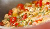 ベイクドトマトとアサリのスパゲティの作り方4