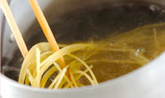 ベイクドトマトとアサリのスパゲティの作り方7