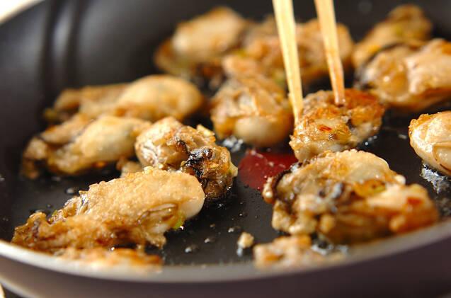カキの香味揚げ焼きの作り方の手順6