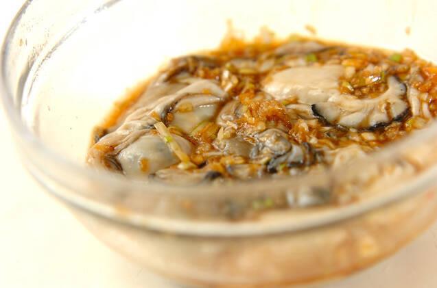 カキの香味揚げ焼きの作り方の手順5