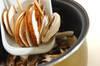 キノコの炊き込みご飯の作り方の手順3