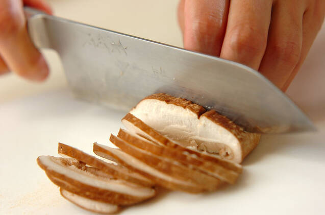キノコの炊き込みご飯の作り方の手順2