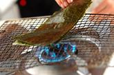 ゴマ風味の焼きのりの作り方2