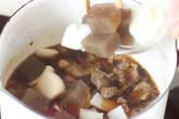 スジ肉煮込み丼の作り方3