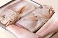 白甘鯛の塩焼きの下準備1