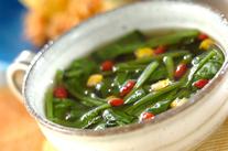 ホウレン草のトロミスープ