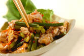 豚肉とニンニクの芽のピリ辛炒めの作り方8