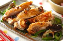 鶏肉の山椒風焼き
