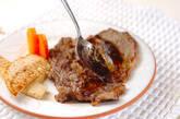 ガーリックステーキの作り方9