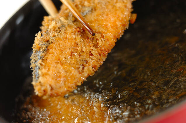 塩鮭のフライの作り方の手順6