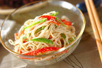 サッパリ素麺サラダ