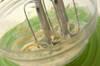 水玉模様のロールケーキタワーの作り方の手順1