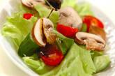 マッシュルームのサラダの作り方1