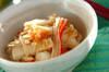 長芋とエノキの明太和えの作り方の手順