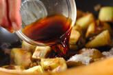 ナスとザーサイの炒め物の作り方4