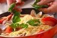 アサリとトマトのパスタの作り方7
