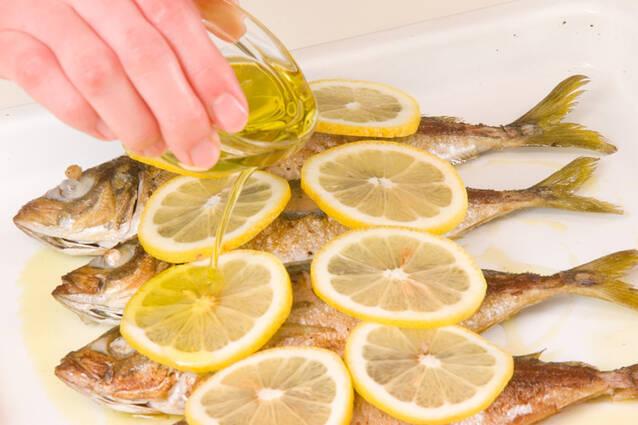 アジのレモン焼きの作り方の手順7
