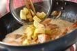 鮭入りカルボナーラの作り方8