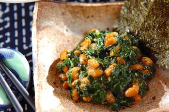 ネバネバモロヘイヤ納豆