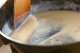 鮭のミルク煮の作り方2