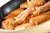 エビ芋と手羽の煮物の作り方の手順8