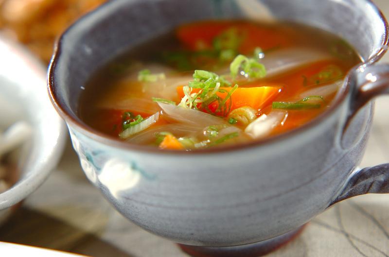 ゴロゴロ人参のスープ煮