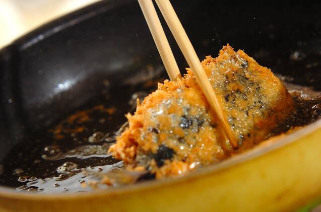 イワシのチーズはさみフライの作り方の手順7