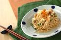 サヤインゲンとしらたきの炒め煮