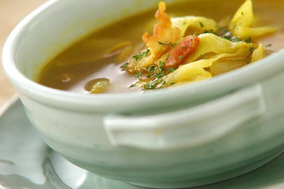 キャベツのカレースープ
