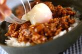 ミートエッグ丼の作り方3