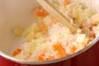 モロヘイヤのスープの作り方の手順5