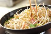 モヤシとベーコンのみそ炒めの作り方5