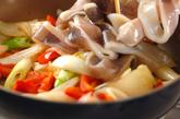 イカのサッとマヨ炒めの作り方1