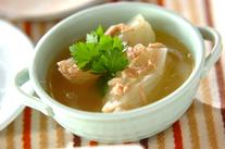玉ネギとツナのスープ煮