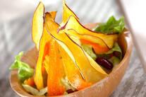 サツマイモのパリパリサラダ