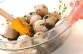 里芋のゴマ汚しの作り方4