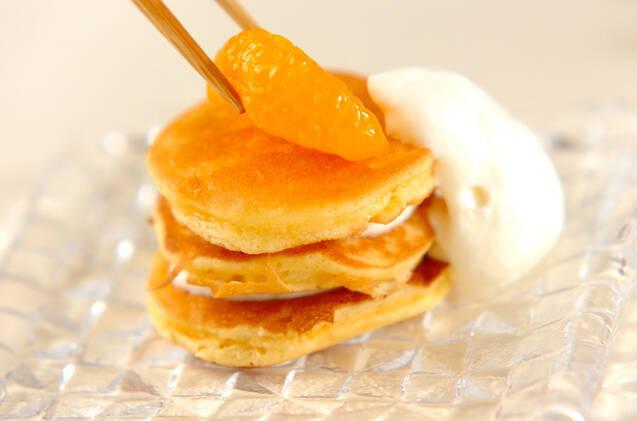 ふわふわパンケーキの作り方の手順11