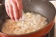 豆苗とささ身の炒め物の作り方2