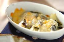 ネギののりチーズ焼き