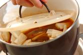 カレイと大根のキムチ煮の作り方2