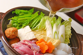 ちゃんこ鍋の作り方1