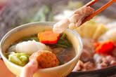 ちゃんこ鍋の作り方13