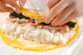 薄焼き卵巻き寿司の作り方3