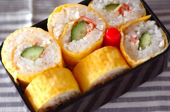 薄焼き卵巻き寿司