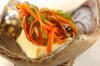卵豆腐の野菜あんかけの作り方の手順3