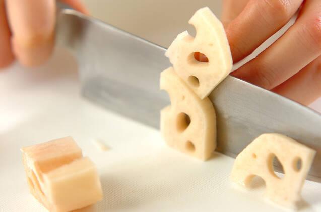 豚と根菜のミルクカレー煮の作り方の手順2