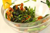 ホウレン草とナメコのお浸しの作り方2