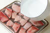 ブリのはりはり鍋の作り方の手順1