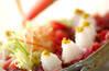 カツオの和サラダの作り方の手順3
