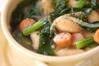 水煮豆のスープの作り方の手順
